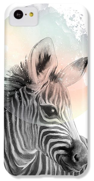 Zebra // Dreaming IPhone 5c Case by Amy Hamilton