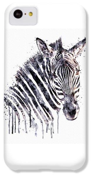 Zebra Head IPhone 5c Case by Marian Voicu