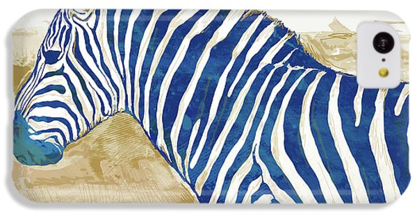 Zebra - Stylised Pop Art Poster IPhone 5c Case