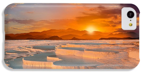 Beautiful Sunrise iPhone 5c Case - Beautiful Sunrise And Natural by Muratart