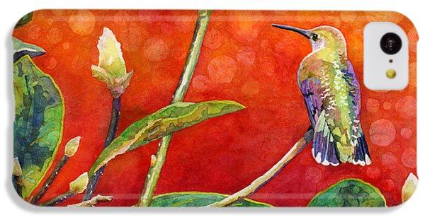 Humming Bird iPhone 5c Case - Dreamy Hummer by Hailey E Herrera
