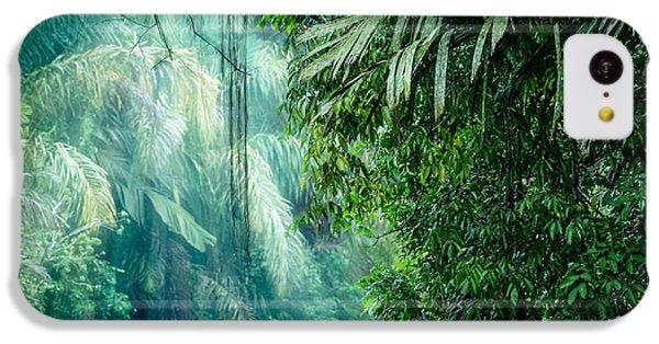 South America iPhone 5c Case - Tortuguero National Park, Rainforest by Ronnybas Frimages