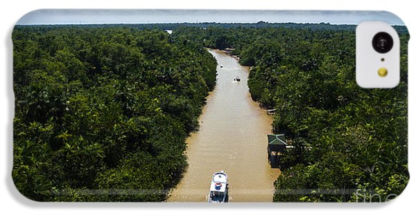 South America iPhone 5c Case - Aerial View Of Amazon River In Belem Do by Esb Professional