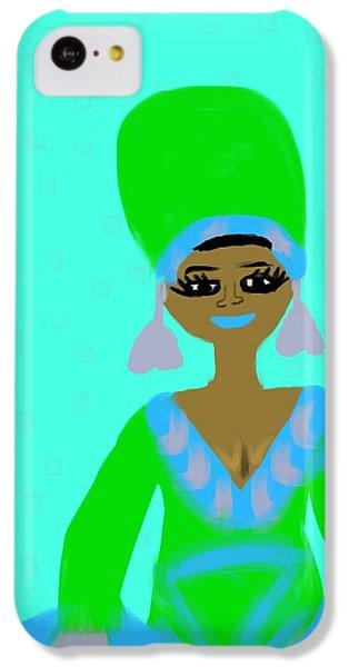 The Art Of Gandy iPhone 5c Case - Aretha by Joan Ellen Gandy of The Art Of Gandy