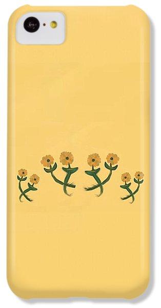 The Art Of Gandy iPhone 5c Case - Eight In Bronze by Joan Ellen Kimbrough Gandy of The Art of Gandy