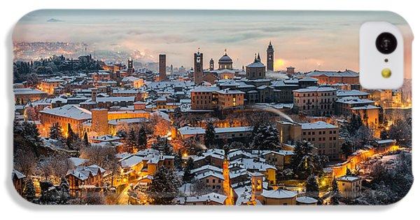 Beautiful Sunrise iPhone 5c Case - Beautiful Medieval Town At Sunrise by Gambarini Gianandrea