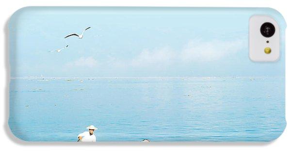 Beautiful Sunrise iPhone 5c Case - Burma Myanmar Inle Lake Traditional by Banana Republic Images