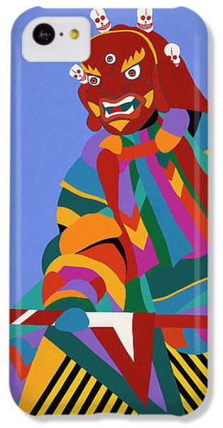 iPhone 5c Case - Cham Dancer Wrathful Deity by Synthia SAINT JAMES