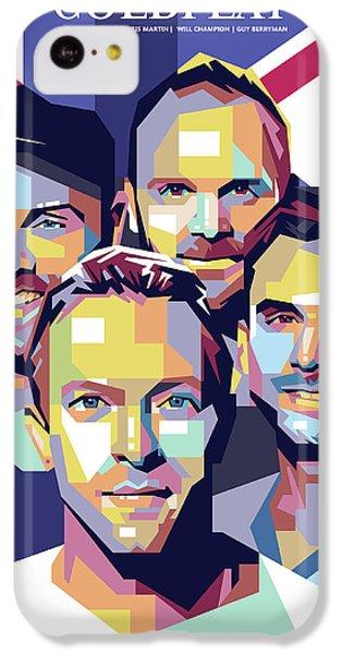 Coldplay iPhone 5c Case - Coldplay by Laksana Ardie