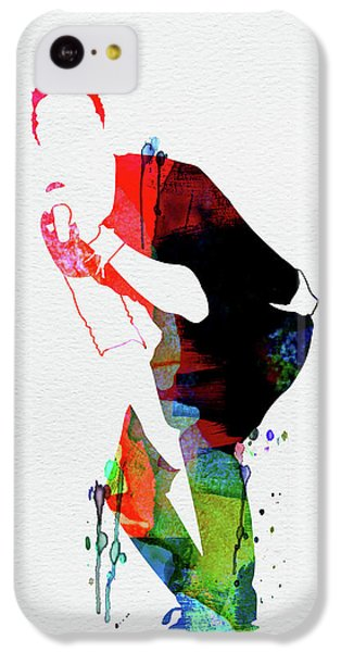 Coldplay iPhone 5c Case - Coldplay Watercolor by Naxart Studio