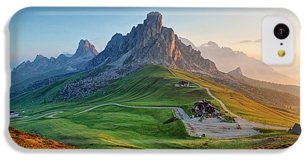 Beautiful Sunrise iPhone 5c Case - Dolomites Landscape by Ttstudio