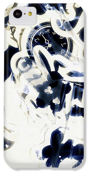 Trumpet iPhone 5c Case - Follow The Blue Rabbit by Jorgo Photography - Wall Art Gallery