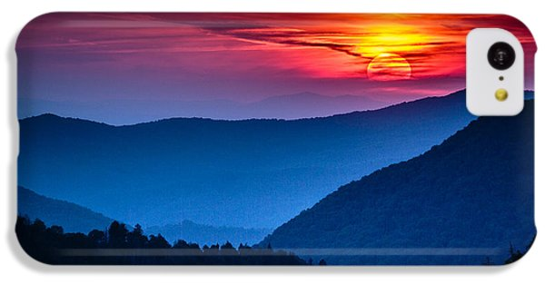 Beautiful Sunrise iPhone 5c Case - Great Smoky Mountains National Park by Weidman Photography