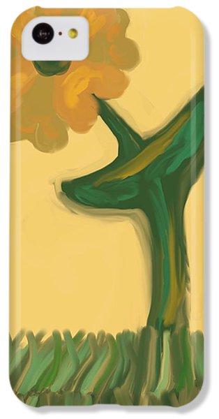 The Art Of Gandy iPhone 5c Case - Growing Bronze by Joan Ellen Kimbrough Gandy of The Art of Gandy