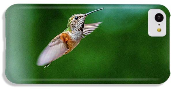 Humming Bird iPhone 5c Case - Humming Bird by Ian Stotesbury
