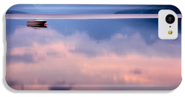 Beautiful Sunrise iPhone 5c Case - Lake Mcdonald by Yao Li Photography