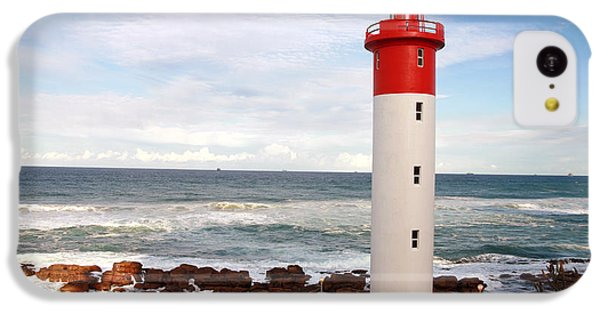 Navigation iPhone 5c Case - Lighthouse Umhlanga South Africa by Paul Banton