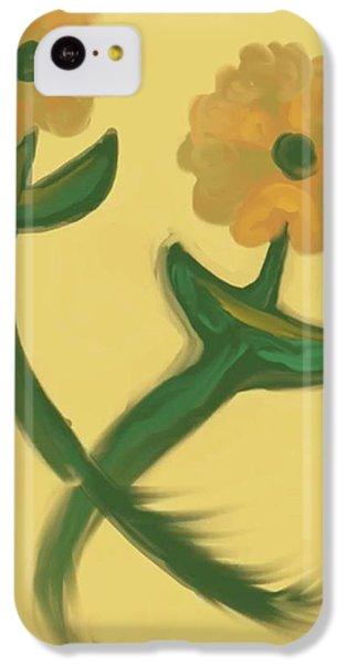 The Art Of Gandy iPhone 5c Case - Love In Bronze by Joan Ellen Kimbrough Gandy of The Art of Gandy