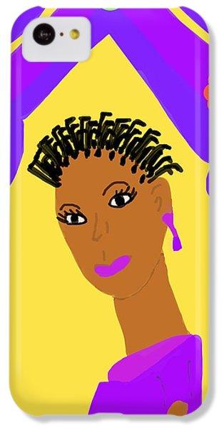 The Art Of Gandy iPhone 5c Case - Loving Sister by Joan Ellen Gandy of The Art of Gandy
