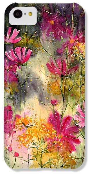 Orchid iPhone 5c Case - Pink Ballerinas by Suzann's Art