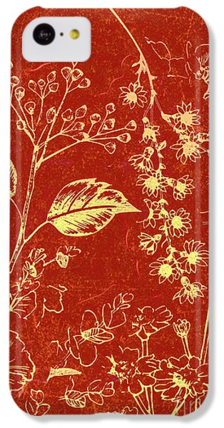 Orchid iPhone 5c Case - Red Blossoms by Jorgo Photography - Wall Art Gallery