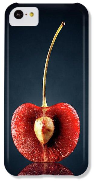 Orange iPhone 5c Case - Red Cherry Still Life by Johan Swanepoel