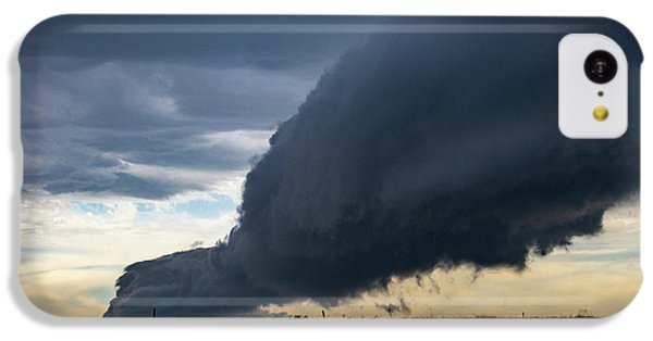 Nebraskasc iPhone 5c Case - September Thunderstorms 003 by NebraskaSC