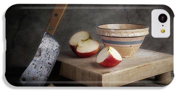 Fruit Bowl iPhone 5c Case - Sliced Apple by Tom Mc Nemar