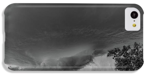 Nebraskasc iPhone 5c Case - Storm Chasin In Nader Alley 007 by NebraskaSC