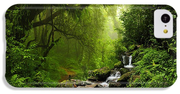 South America iPhone 5c Case - Subtropical Forest In Nepal by Quick Shot