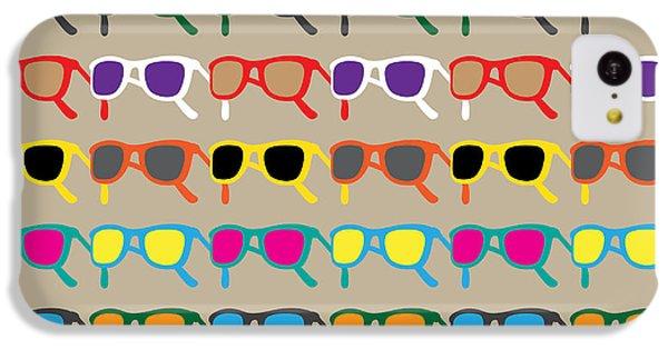 South America iPhone 5c Case - Sun Glasses Pattern by Leo Brazil