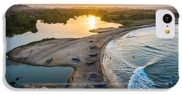 Beautiful Sunrise iPhone 5c Case - Sunset Seen From Elephant Rock Near by Shanti Hesse