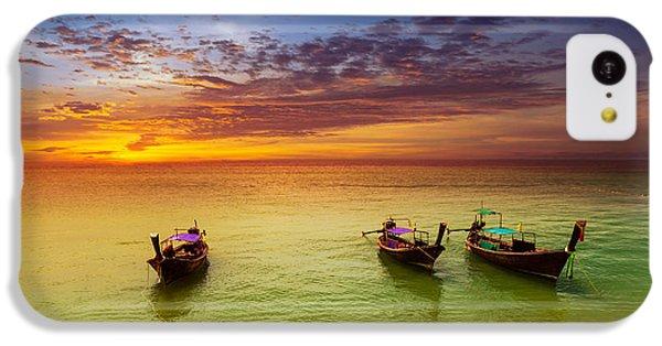 Beautiful Sunrise iPhone 5c Case - Thailand Nature Landscape. Tourism by Banana Republic Images