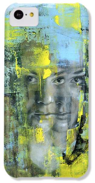 Figurative iPhone 5c Case - The Naked Word by Patricia Ariel