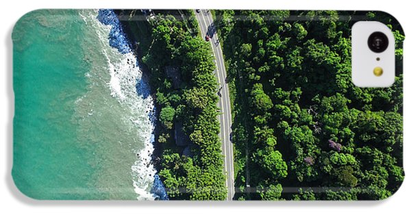 South America iPhone 5c Case - Top View Of Highway In A Coastline by Gustavo Frazao
