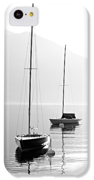 Navigation iPhone 5c Case - Two Sail Boats In Early Morning On The by Kletr