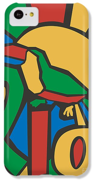 South America iPhone 5c Case - Vector Illustration Rio Poster by Trentemoller