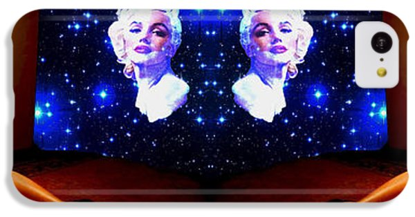 Scarlett Johansson iPhone 5c Case - When Scarlet Johansson Dreams Of Marilyn Monroe In Stereo by Ben Stein