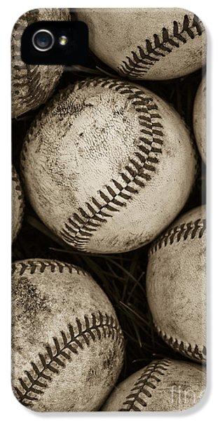 Baseballs IPhone 5s Case by Diane Diederich