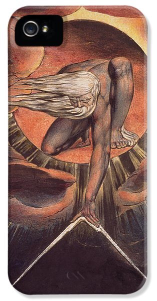 Etching iPhone 5s Case -  Frontispiece From 'europe. A Prophecy' by William Blake