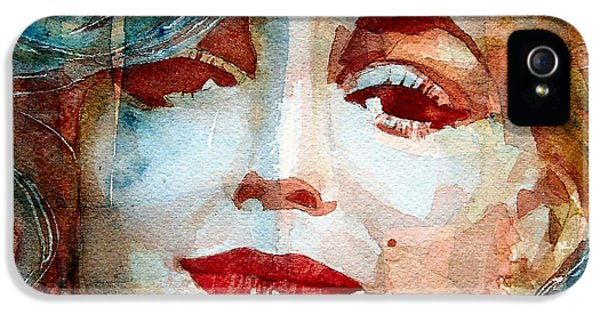 Hollywood iPhone 5s Case -  Marilyn   by Paul Lovering