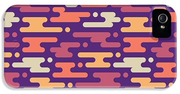 Pastel Colors iPhone 5s Case - Abstract Geometric Background - by Sergey Korkin