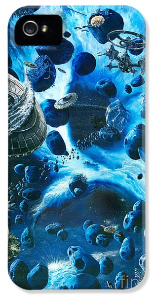 Alien Pirates  IPhone 5s Case by Murphy Elliott