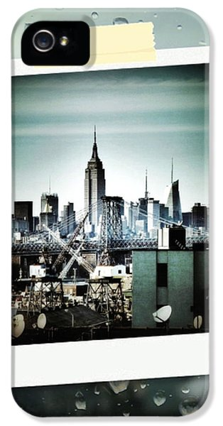 April In Nyc IPhone 5s Case by Natasha Marco