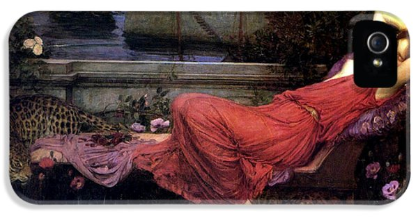 Minotaur iPhone 5s Case - Ariadne by John William Waterhouse