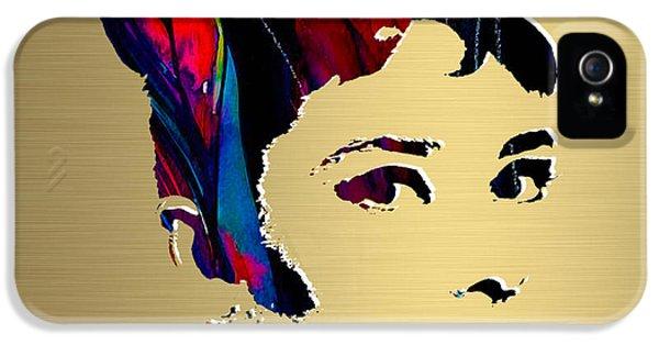 Audrey Hepburn Gold Series IPhone 5s Case