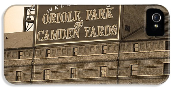 Baltimore Orioles Park At Camden Yards IPhone 5s Case