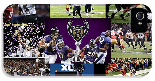 Baltimore Ravens IPhone 5s Case