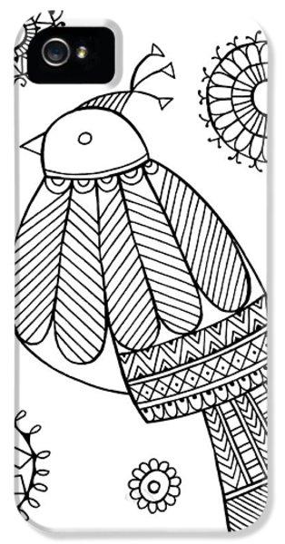Bird Dove IPhone 5s Case by Neeti Goswami