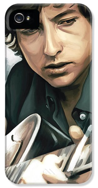 Bob Dylan Artwork IPhone 5s Case